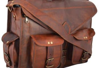 e733c305edc3 Top 15 Best Handmade Leather Messenger Bag Reviews in 2019