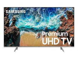 "Samsung Flat 82"" 4K UHD 8 Series Smart LED TV"