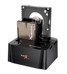 Thermaltake HDD Dock BlacX Duet External Hard Drive Enclosing Docking Station