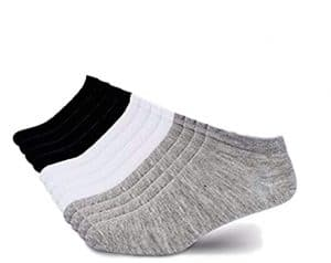 Men's 12 Pack Low Cut No Ankle Socks