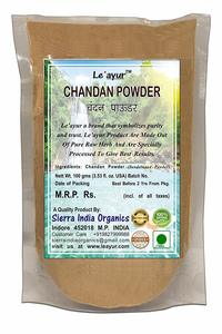 #12.Le'ayur Chandan (Sandalwood) 100 Gms Powder