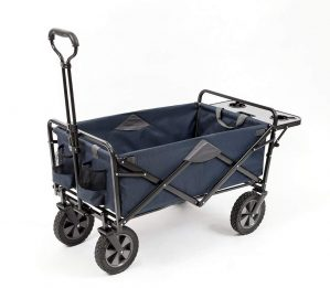 Mac Sports Collapsible Outdoor Utility Wagon with Folding