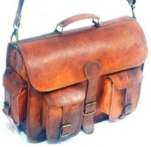 Leather Messenger Handmade Bag Laptop Bag