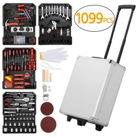 Yaheetech Sturdy 1099pcs Mechanics Tool Set
