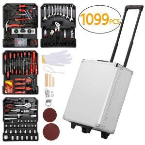 Yaheetech Sturdy 1099pcs Mechanics Tool Set