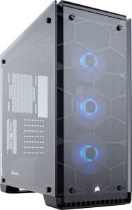 Corsair Computer Case Crystal 570X RGB Mid Tower Case