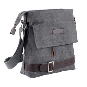 Unisex Vintage Retro Canvas Messenger Bag