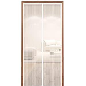 Hoobest White Magnetic Screen Door