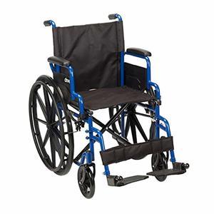 2. Drive Medical Blue Streak Best Lightweight Wheelchair