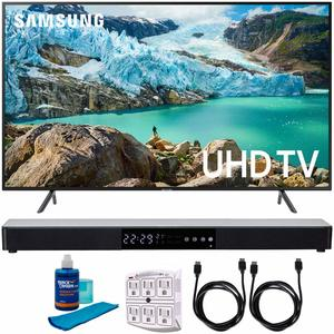 #2. Samsung 58-Inch RU7100 4K UHD Smart LED TV ….