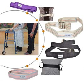Physical Therapy Gait Belt with Metal Buckle