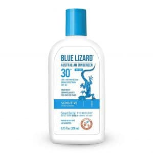 BLUE LIZARD Sunscreen for Sensitive Skins