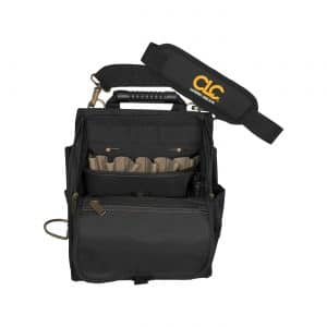 CLC Custom Leathercraft Lighted Electrician Tool Bag