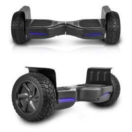 CHO All Terrain Smart Self-Balancing Rugged Black Hoverboard