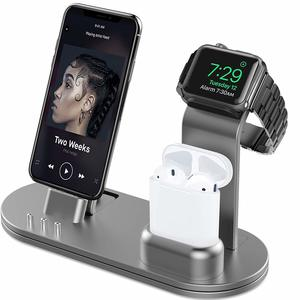 3. OLEBR Aluminum Alloy Charging Stand - Apple Watch Chargers