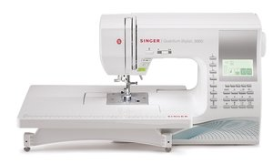 3. SINGER | Quantum Stylist 9960 Computerized Portable Sewing Machine