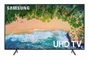 #3. Samsung UN65NU7100 65 Flat 4K UHD Smart TV 7 Series 2018