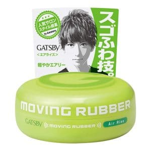 Gatsby Hair Wax MOVING RUBBER AIR RISE