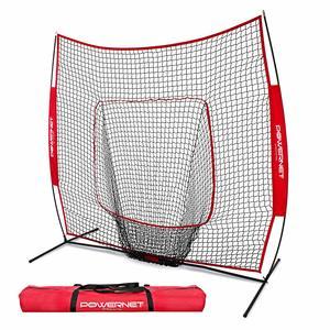 4. Baseball Pitching Net PowerNet Baseball and Softball Practice Net 7 x 7