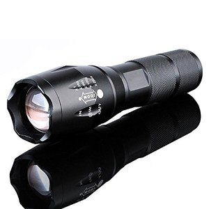 #5 10000 Lumens Tactical Military Flashlight Torch Lamp