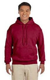 Gildan's G18500 hooded sweatshirts