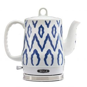 BELLA Liter Electric Ceramic Tea Kettle