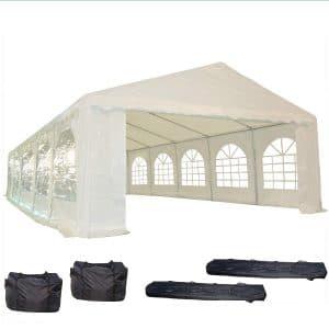 32'x16' PE Party Tent White