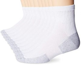 Men's Value 10 Pack Ankle Crew Socks