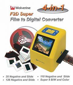 Jumbl Film to Digital Converter and Slide Scanner