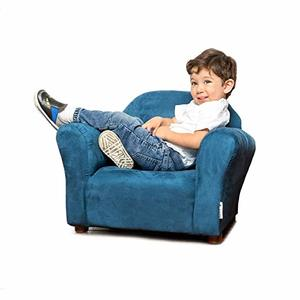 #5 Keet Roundy Micro-suede Children's Chair