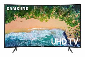 #5. Samsung UN65NU7300 65 Inch Curved 4K UHD Smart TV 7 Series (2018)