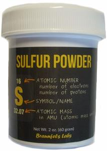 #5.Braunfels Labs Sulfur Powder - 2 Oz