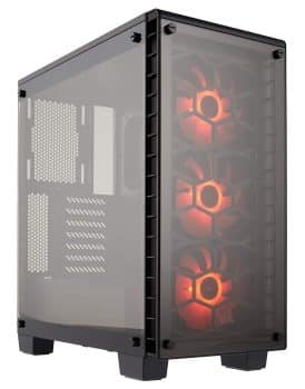 Corsair Computer Case Crystal 460×RGB Compact Mid