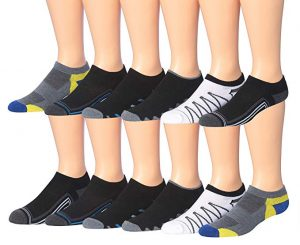 Men's 12-Pairs Low Cut Athletic Sports Socks