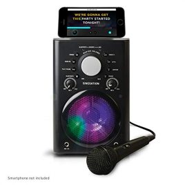 8-8 Singsation Karaoke Machine - Bluetooth Microphones