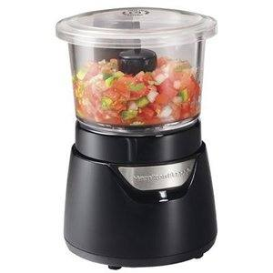 #6 Hamilton Beach Stack & Press 3-Cup Food Processor