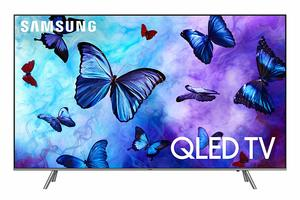 #6. Samsung QN75Q6 Flat 75-Inch QLED 4K UHD Smart TV 6 Series (2018 Model)