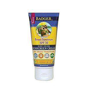 Badger Sunscreen for Sensitive Skins