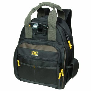 CLC Custom Leathercraft Lighted Back Pack