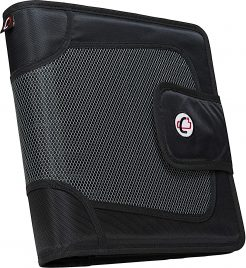 Case-it Open Tab Velcro Closure Binders for College