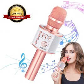 Ankula Bluetooth Karaoke Microphone