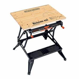 7. BLACK+DECKER Portable Workbench Project Center and Vise
