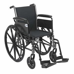 7. Drive Medical Cruiser III Light Weight Wheelchair