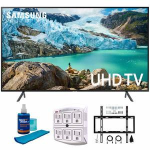 #7. Samsung 65 RU7100 4K UHD LED Smart TV 2019 Model (UN65RU7100FXZA)G��