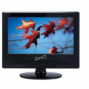 #7. Supersonic SC-1311 Widescreen LED HDTV 13.3 inches