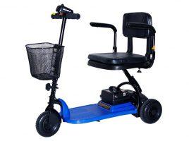 Shoprider Blue Wheel Scooter