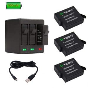 MIBOTE Rechargeable Battery