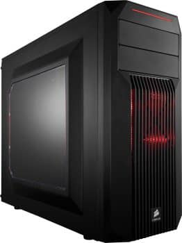 Corsair Computer Case -02 Mid - Tower Gaming Case