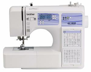 8. Brother Computerized Sewing and Quilting Machine