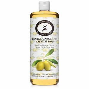 #8. Carolina Castile Unscented Liquid Soap